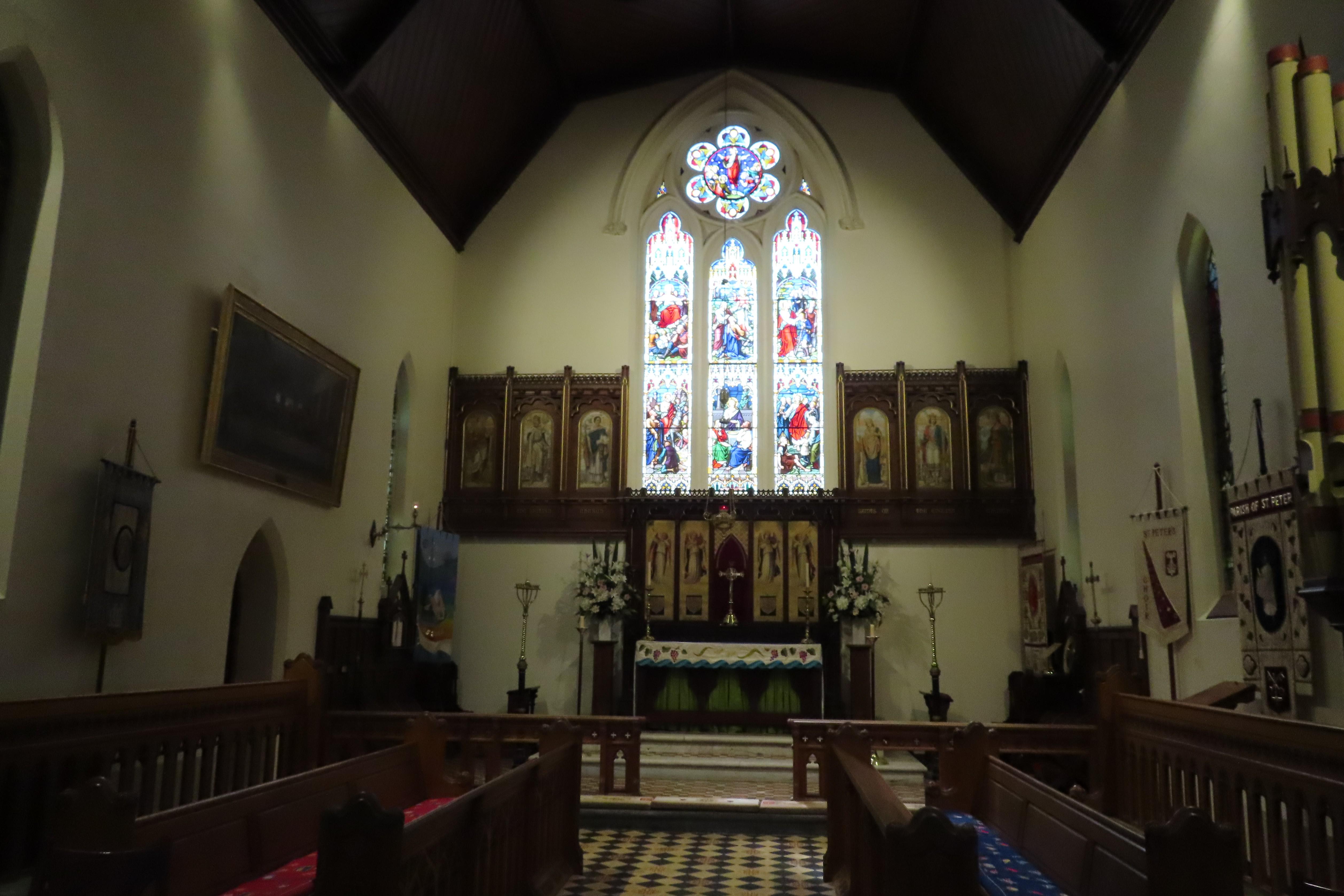 St Peters Glenelg altar 20191030