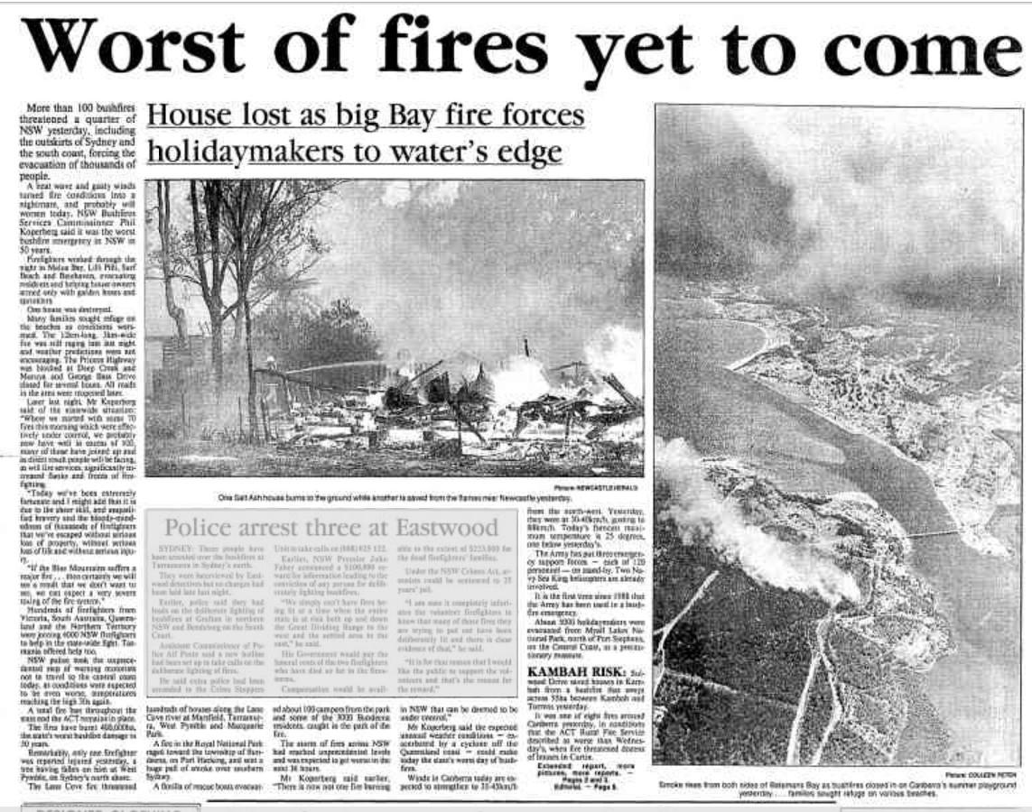 BBay fire 1994