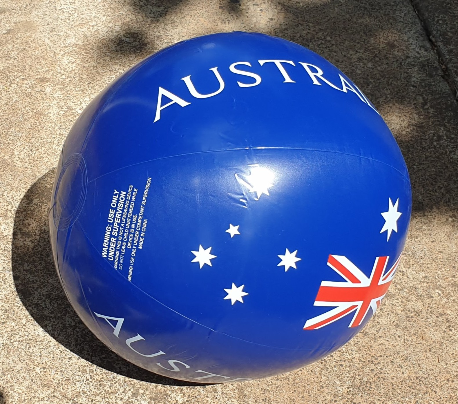 Australia Day beach ball