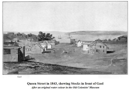 Auckland Queen St 1843