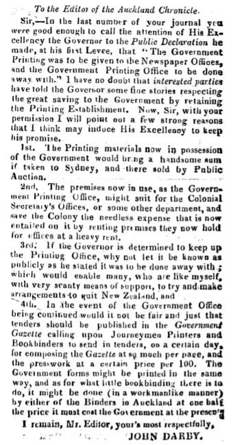 Darby John 1844 letter
