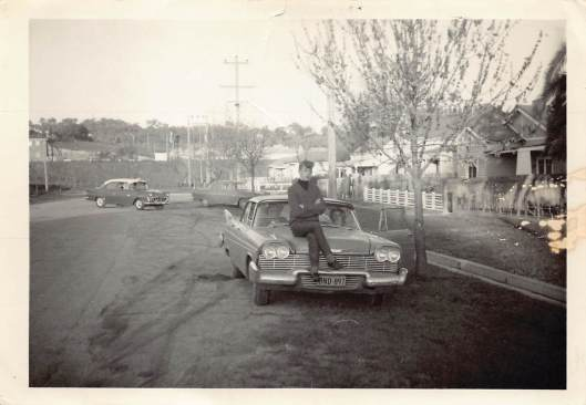 Hovell Street Greg 1966 Jim Windsor's car