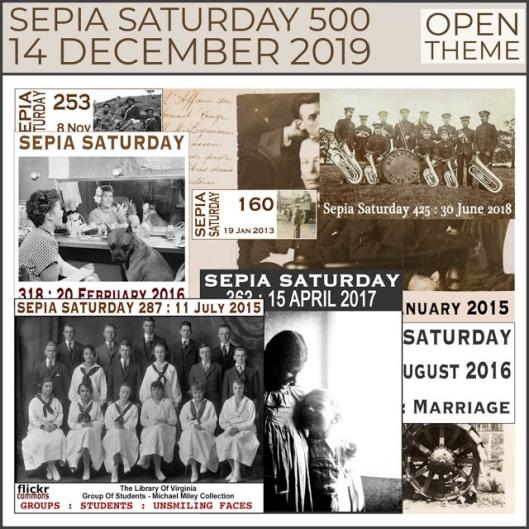Sepia Saturday 500 Prompt Image