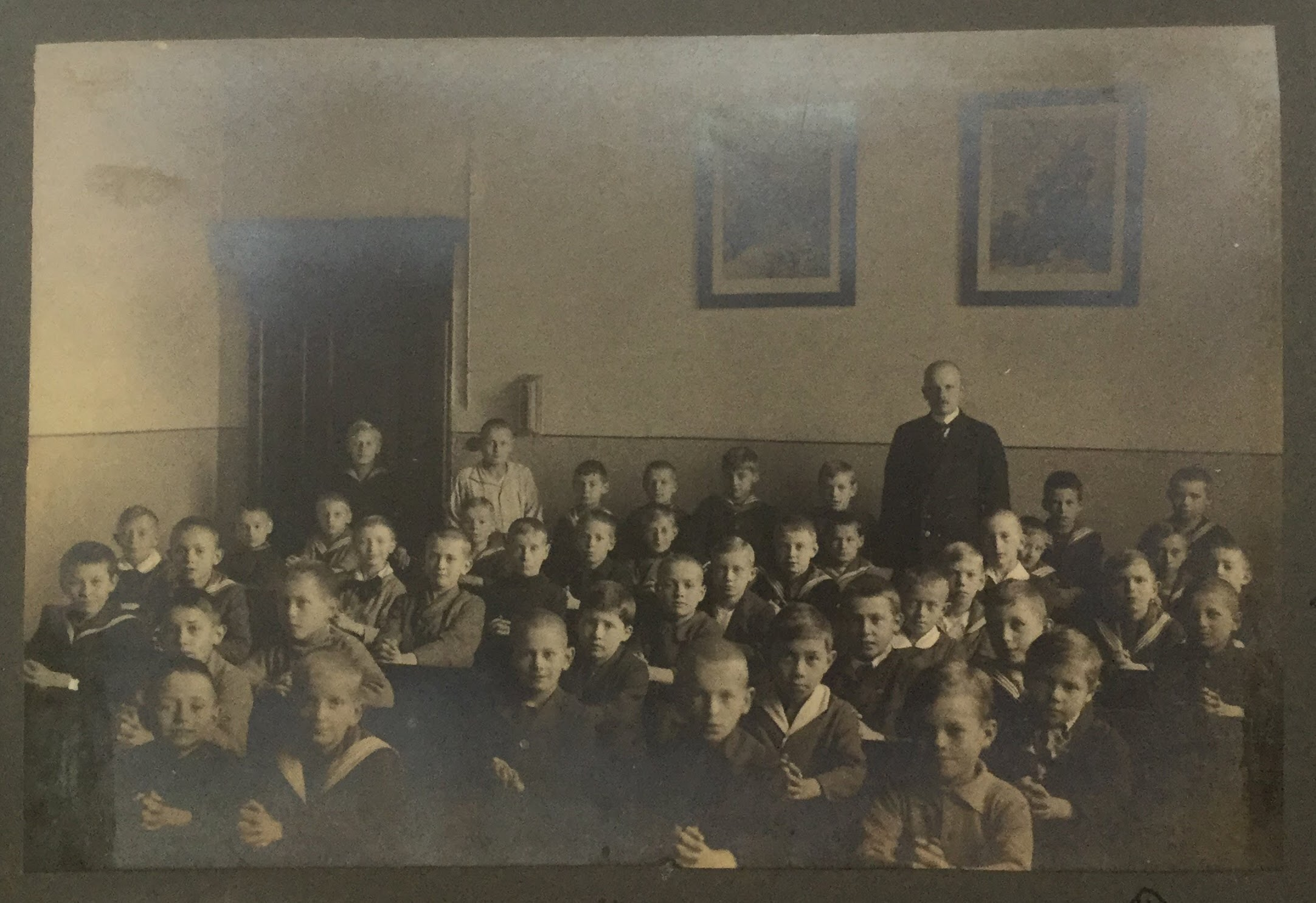 Hans Boltz school about 1919
