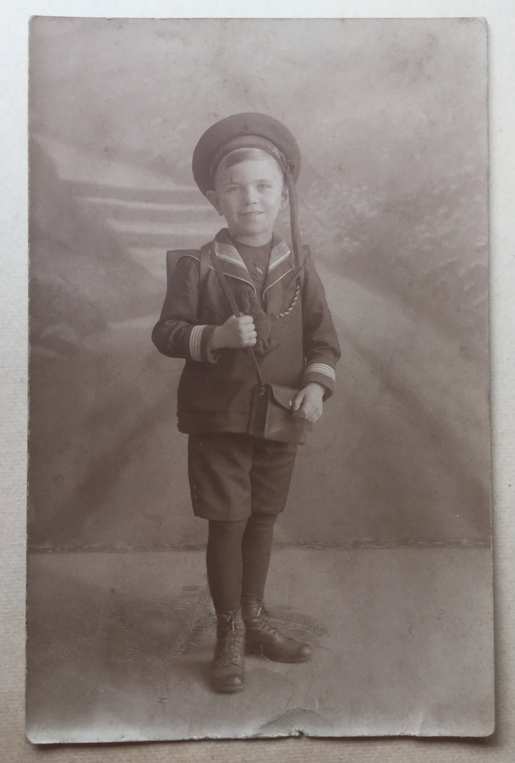 Hans Boltz as a child