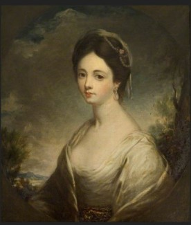 Betsy Hodges (d.1772), Second Wife of Philip Champion de Crespigny George Romney (1734–1802) (circle of) Kelmarsh Hall Medium oil on canvas Measurements H 75 x W 62 cm