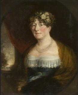 Lady Sarah Windsor (1763–1825) British (English) School Kelmarsh Hall Medium oil on canvas Measurements H 74 x W 61 cm