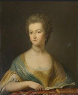 Mary Clarke (1749–1812), Wife of Sir Claude Champion de Crespigny, 1st Bt British (English) School Kelmarsh Hall Medium oil on canvas Measurements H 75 x W 62 cm