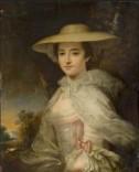 Susan (1735–1776), Sister of Sir Claude Champion de Crespigny, 1st Bt George Romney (1734–1802) (circle of) Kelmarsh Hall Medium oil on canvas Measurements H 75 x W 62 cm