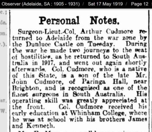 Dunluce Castle Cudmore 1919
