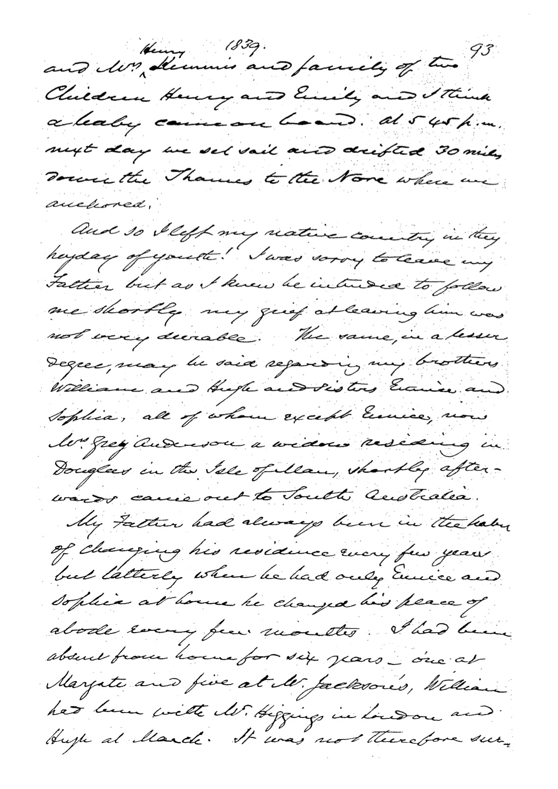 Chauncy PAC-10024086 memoirs page 115 of 220 pages
