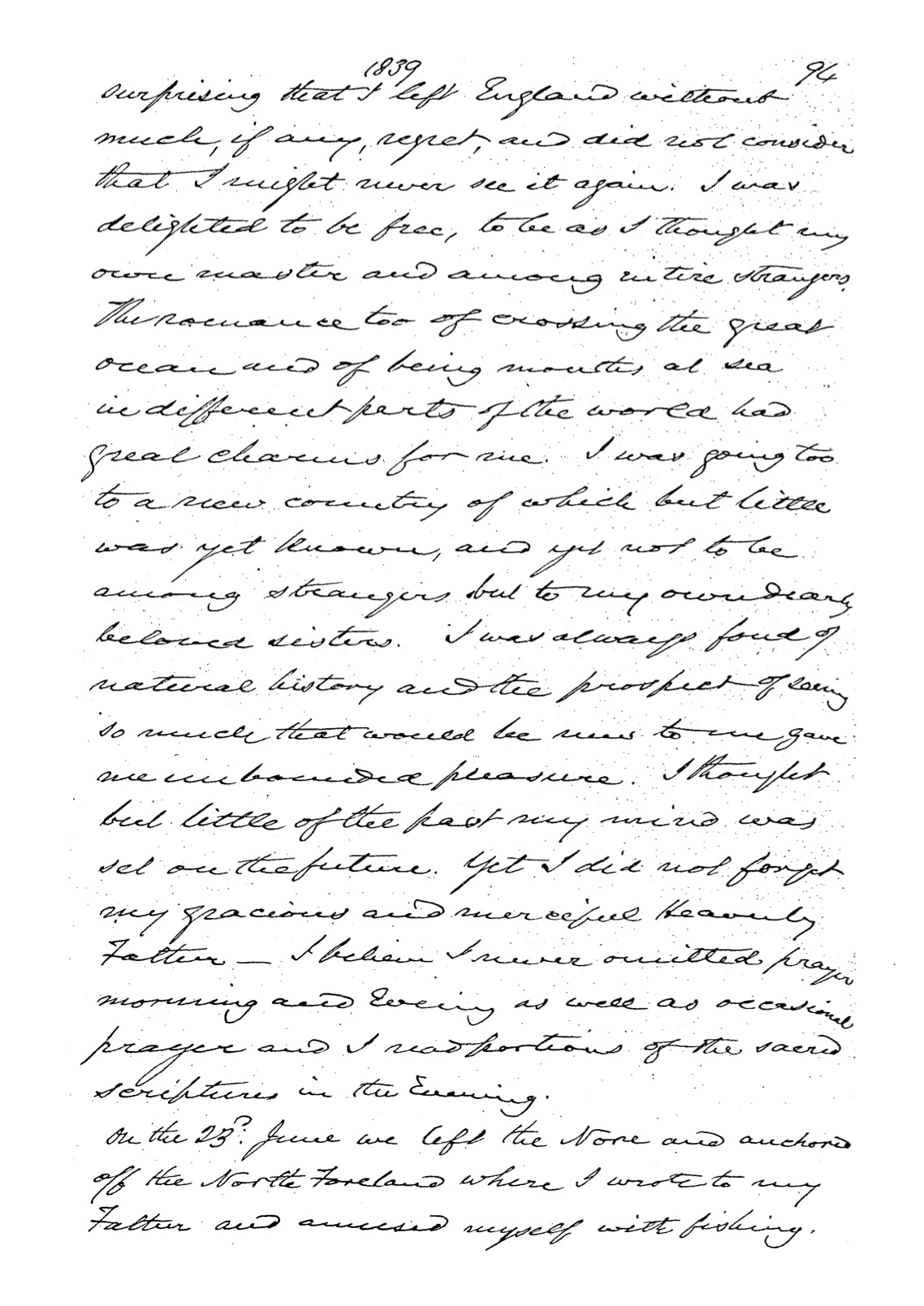 Chauncy PAC-10024086 memoirs page 116 of 220 pages
