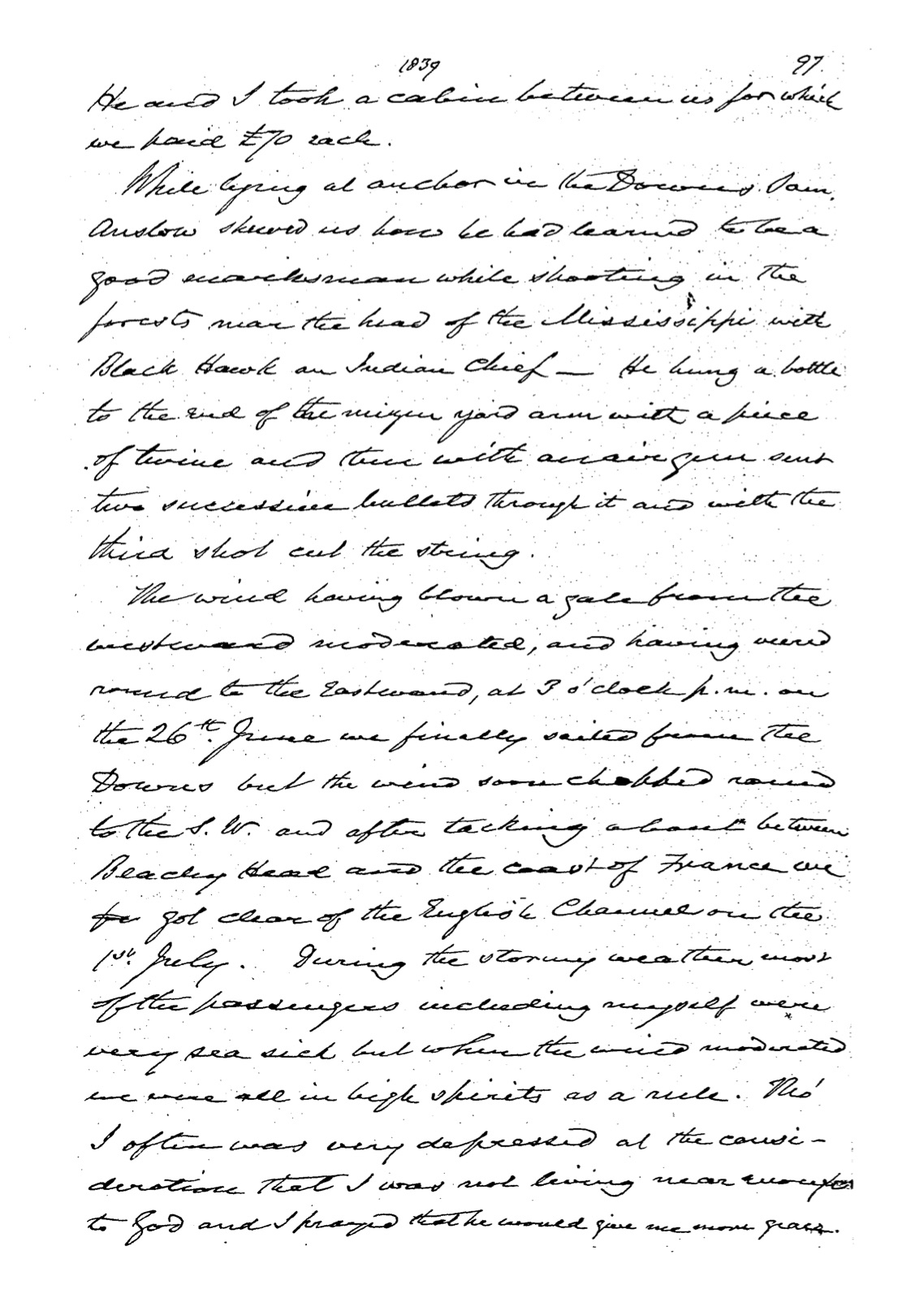 Chauncy PAC-10024086 memoirs page 119 of 220 pages
