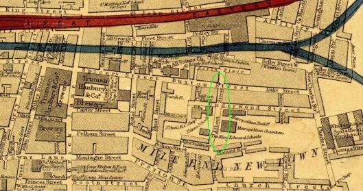 Albert Street 1868