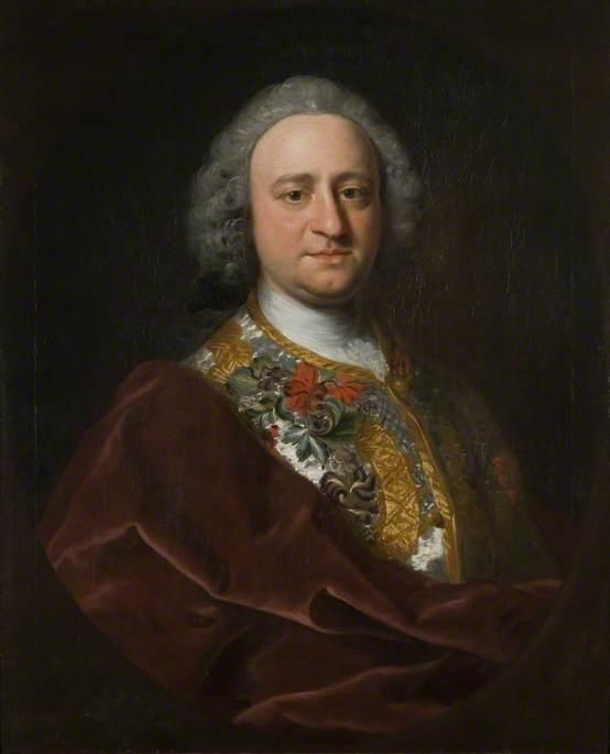 van Loo, Jean-Baptiste, 1684-1745; Claude Champion de Crespigny (1706-1782)