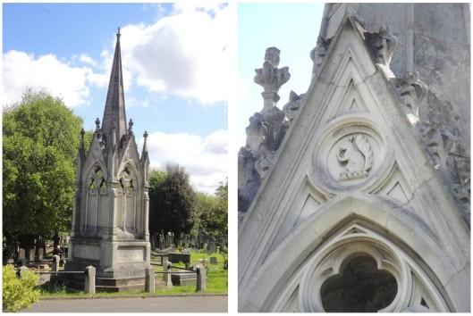 Gilbart J W tomb Victorian web