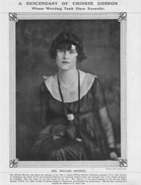 Ms William Morrice from The Tatler 21 November 1917 retrieved from FindMyPast