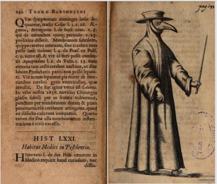 Plague doctor 1661