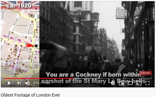 Youtube London 5 mins 12 secs still