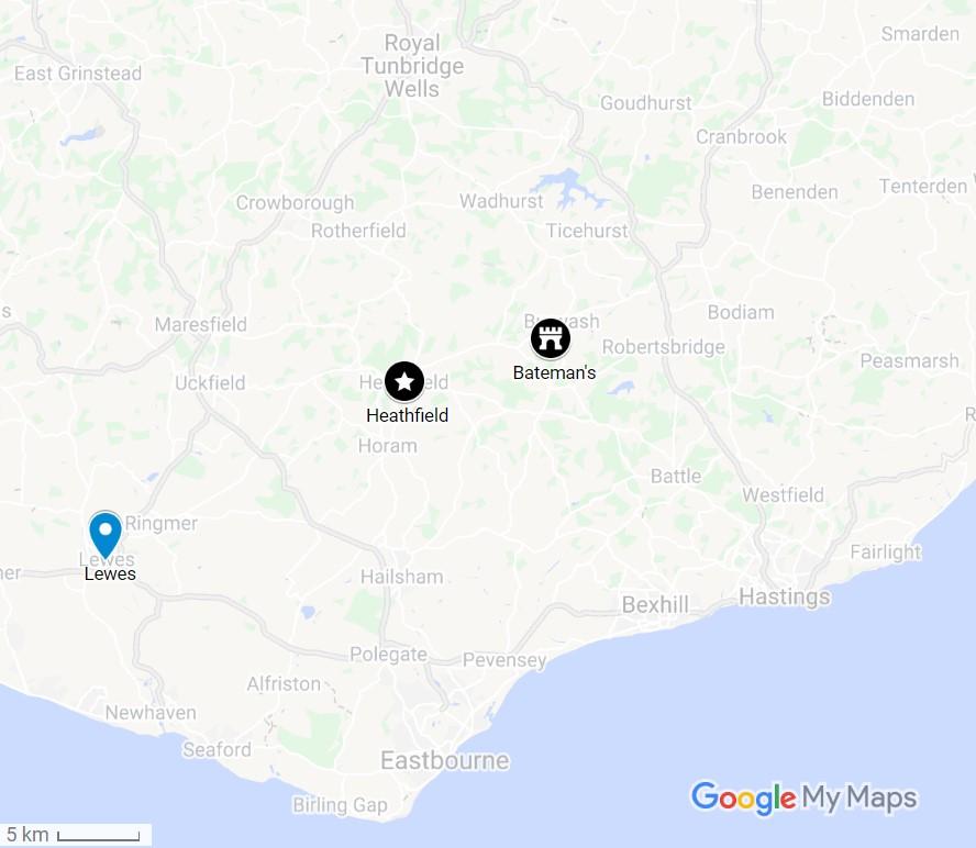 2019 UK map 20190524