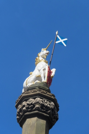 Unicorn on the Mercat Cross