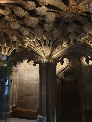 entrance area to the Thistle Chapel