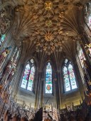 cieling of Thistle Chapel