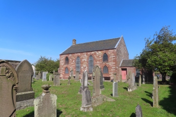 Abernethy church and churchyard
