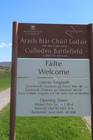 Welcome to Culloden Battlefield