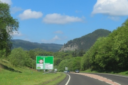 heading north to Pitlochry