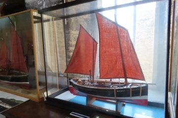 "Wick Heritage Museum model sailing ship ""Minnie Ha-Ha"""