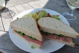 a really excellent sandwich