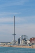 i360 from the Pier