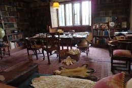 Kipling's library - writing room
