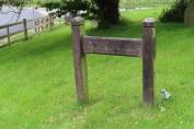 Edith Nesbitt's grave marker