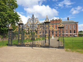gates at Kensington Palace