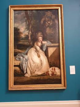 Joshua Reynolds 'The Hon. Miss Monckton'