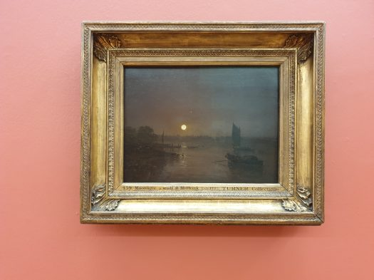 JMW Turner 'Moonlight, a study at Millbank'