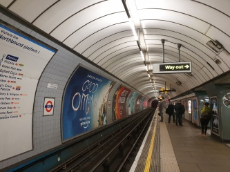 caught the tube back to Kensington