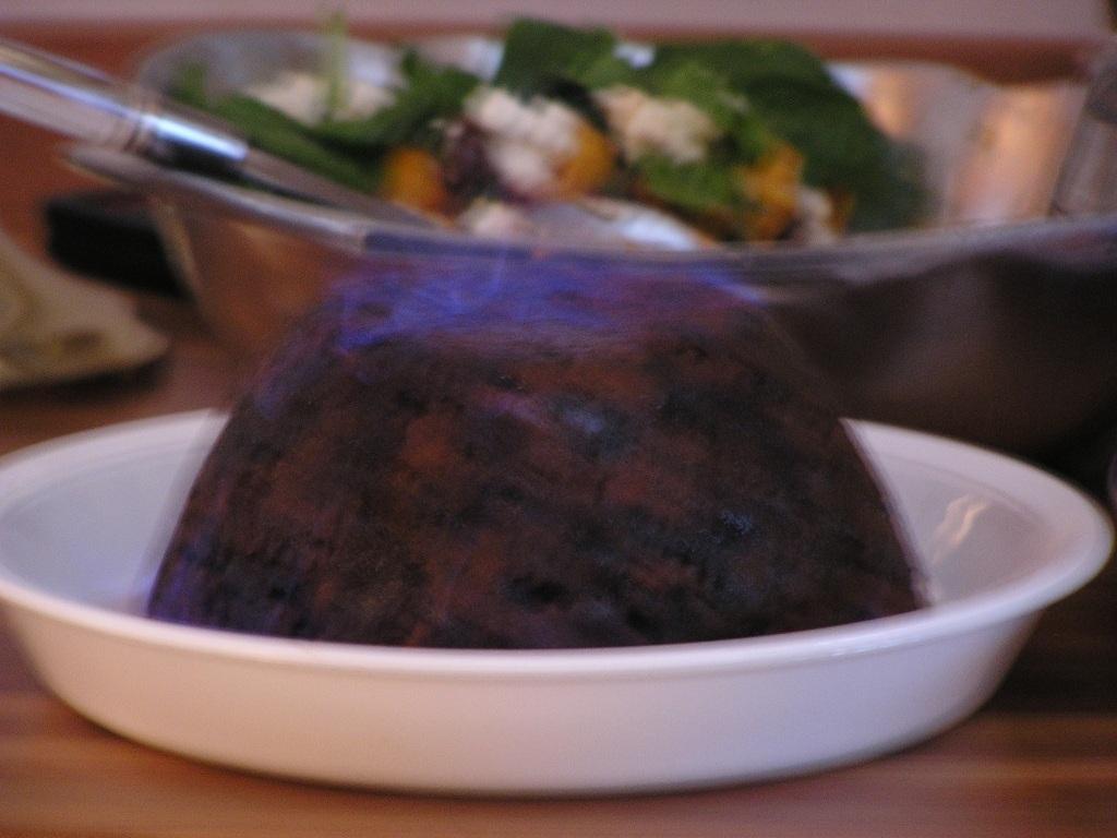 2003 flaming pudding